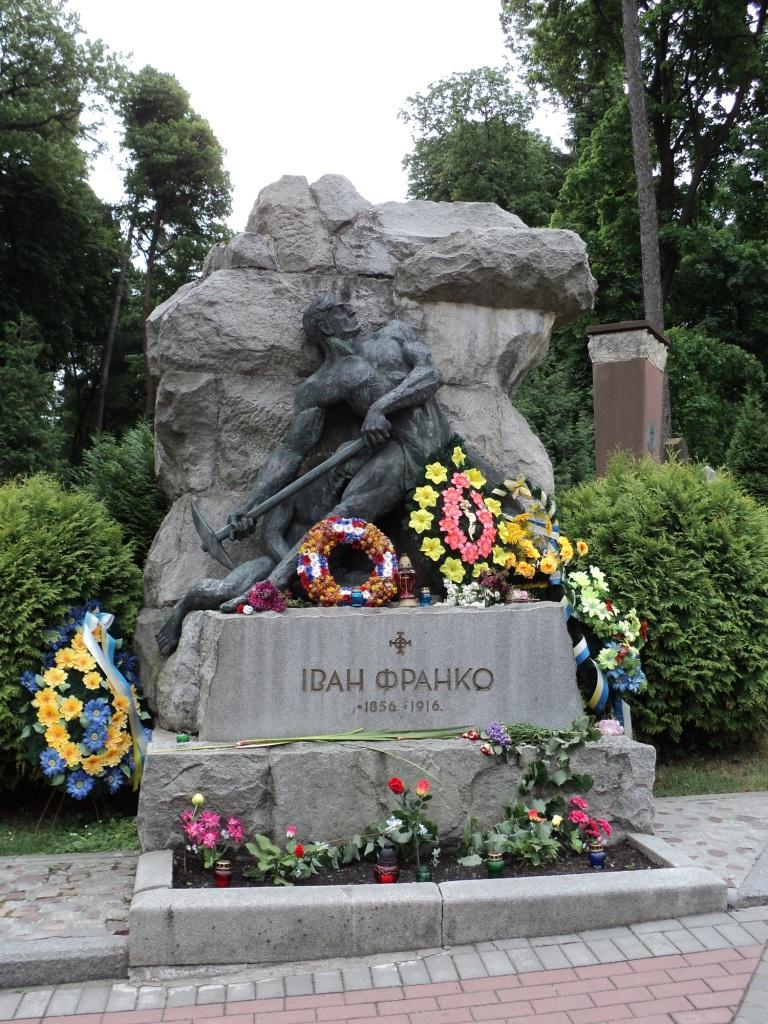 Grabmal von Iwan Franko