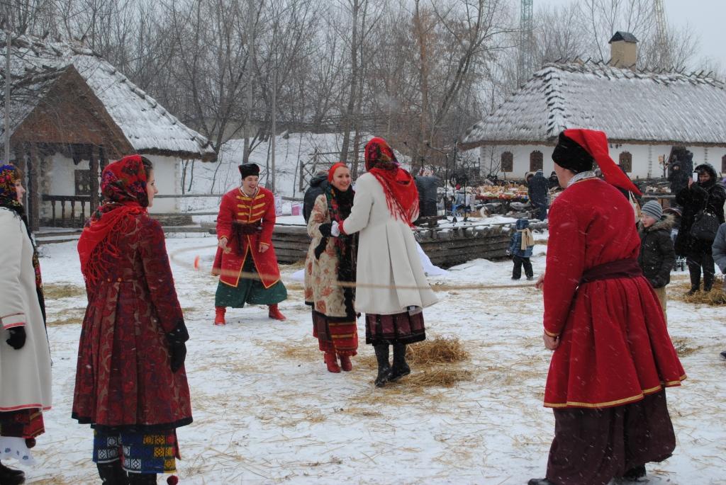 Ukrainischer Karneval Masnyzja