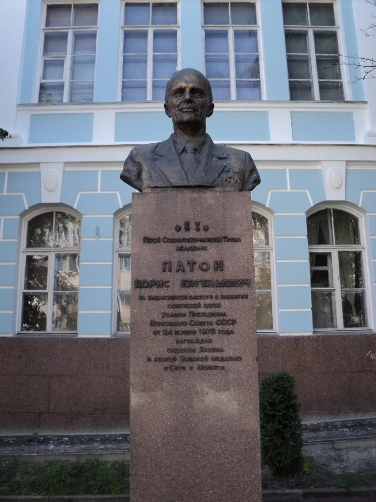 Denkmal für Borys Paton