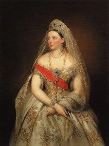Aleksandra Petrowna, Bild Carl Timoleon von Neff