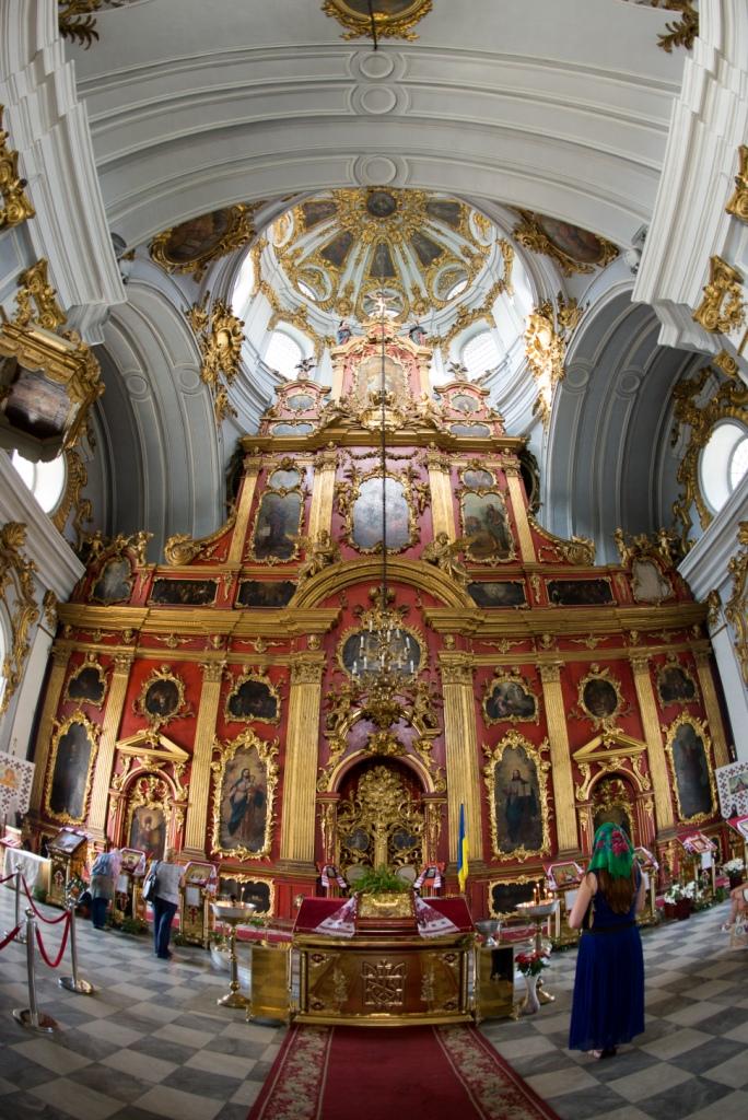 Innenraum der Andreaskirche