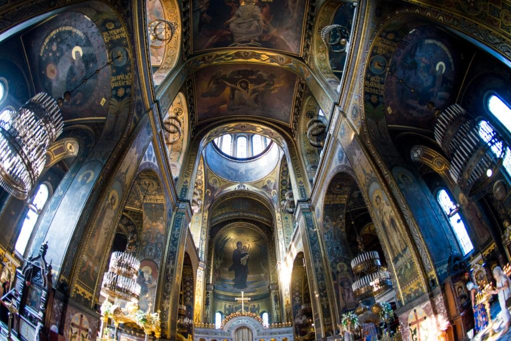 Innenraum der Wolodymyr-Kathedrale
