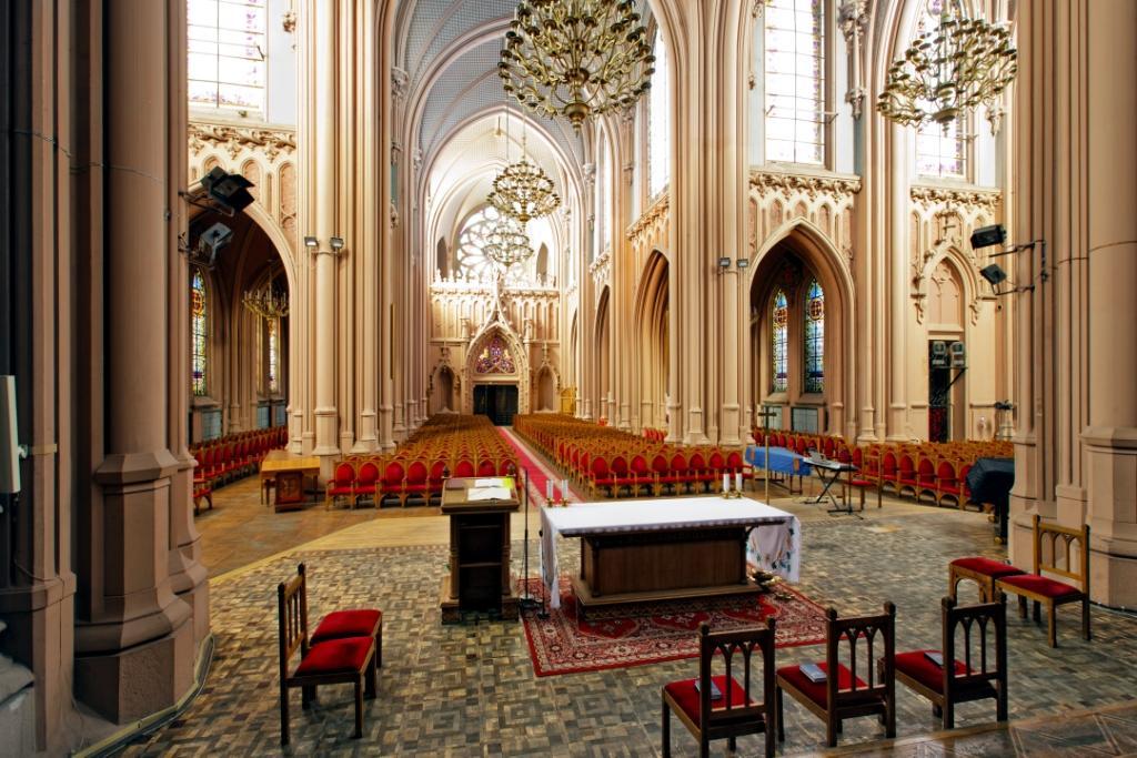 St.-Nikolaus-Kathedrale in Kiew. Innenausstattung
