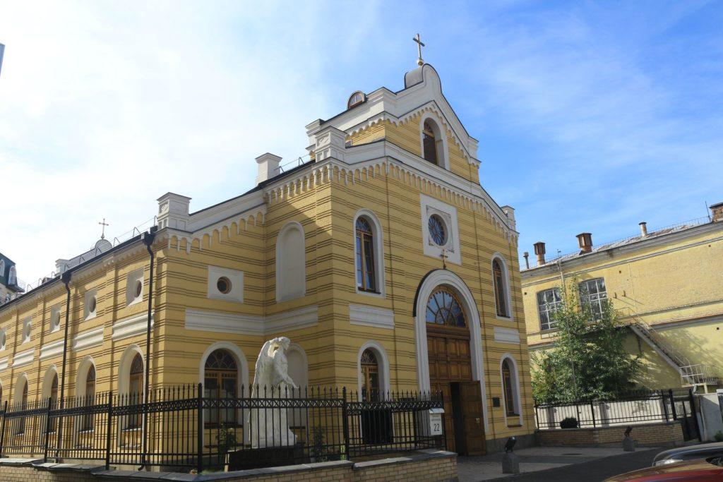 Die St.-Katharinen-Kirche von außen