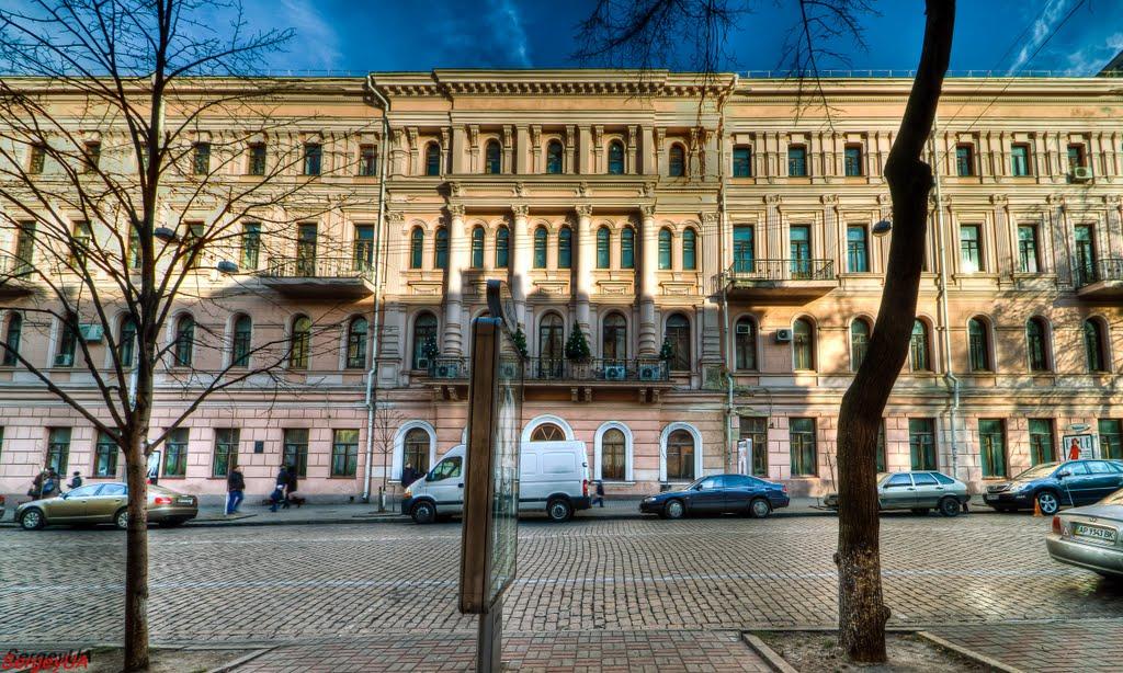 Straße des Architekten Horodezkyj, 1-3 (Sergey UA, Panoramio)
