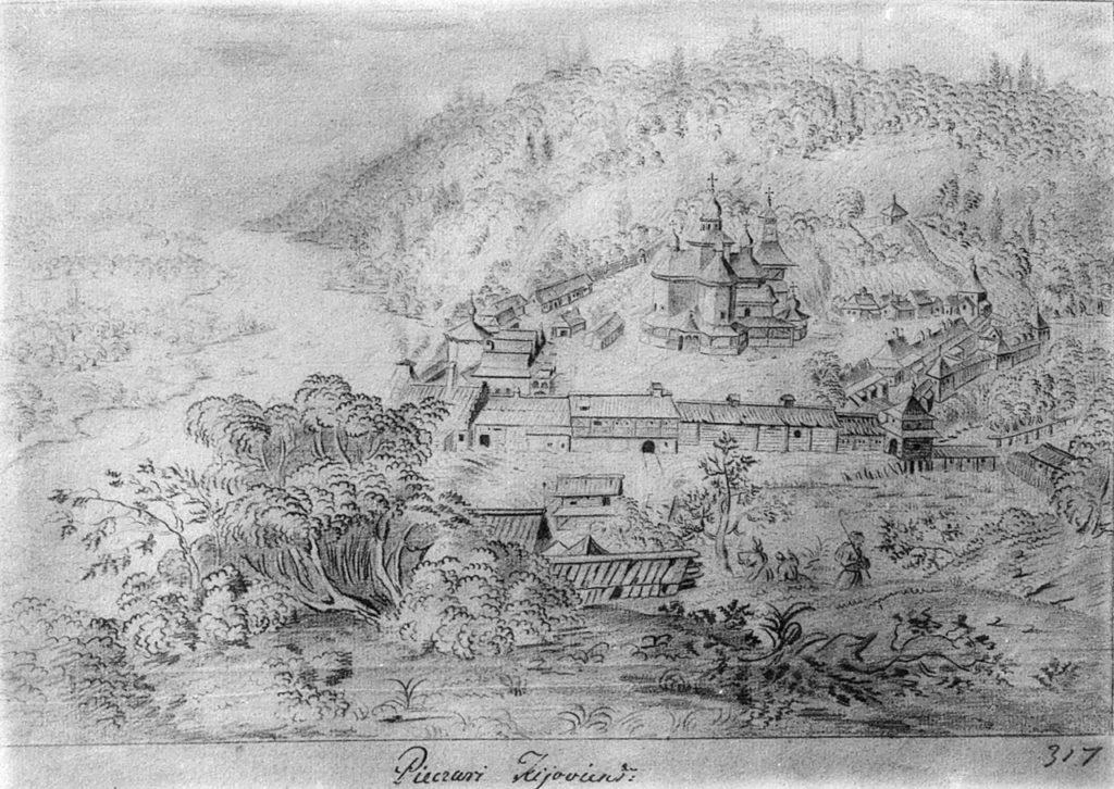 Kloster Meschyhirja, 1650-er, Abraham van Westerveld