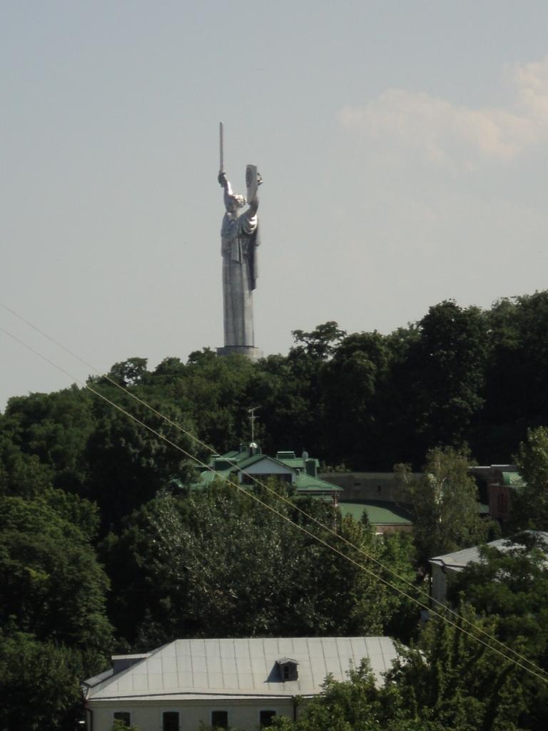 Das Panaroma von der Aussichtsterrasse hinter dem Refektorium