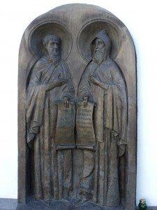 Преподобные Антон и Феодосий
