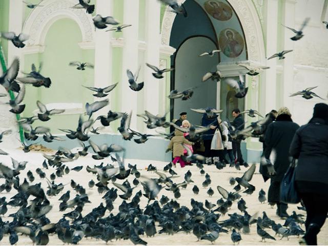 Seltsame Verbote in Kiew