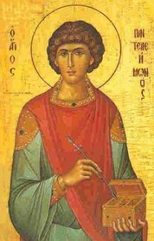 Der Gedenktag des Heiligen Pantaleon