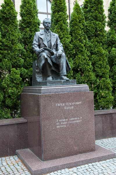 Denkmal für Jewgeni Paton