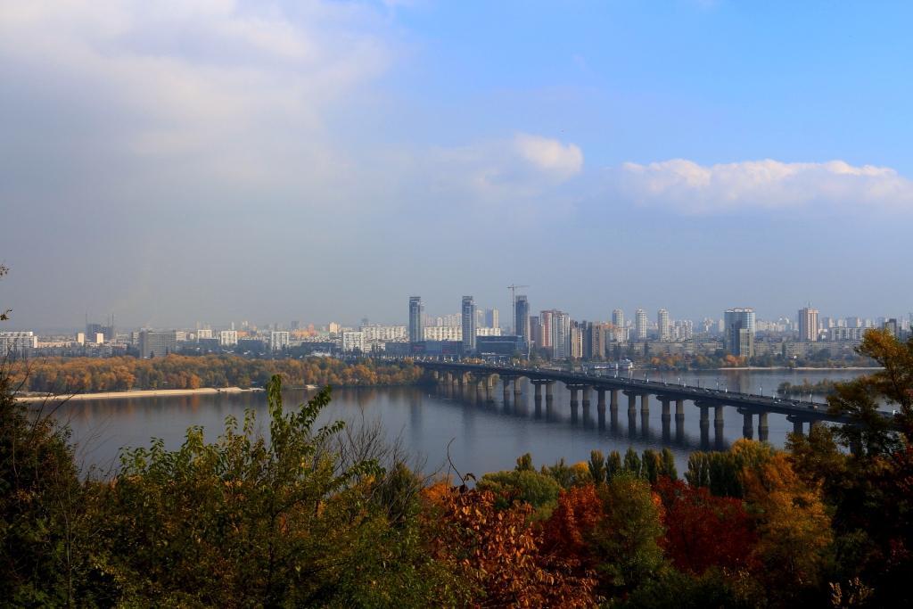 Herbst in Kiew