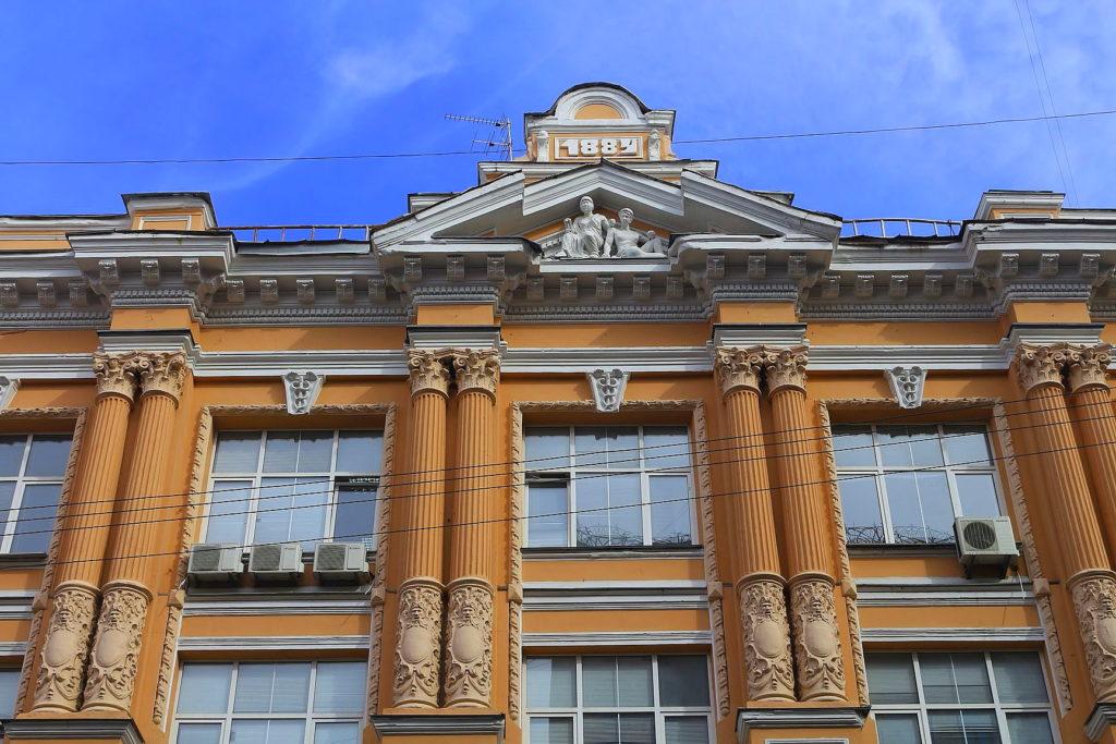 Architektur in der Horodezkyj-Straße