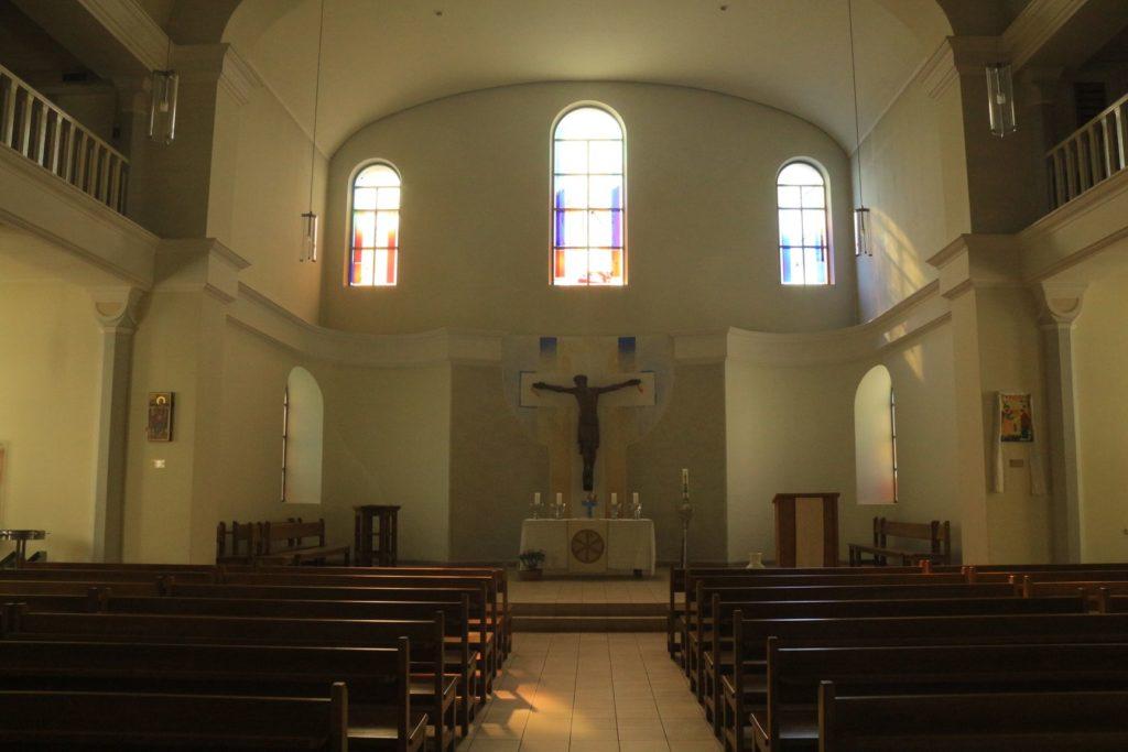 Die St.-Katharinenkirche von innen