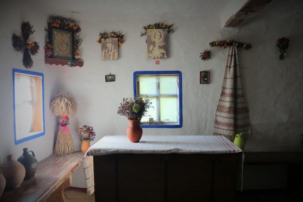 In der alten Hütte