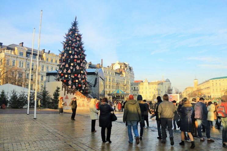 Weihnachtsmarkt am Sophienplatz