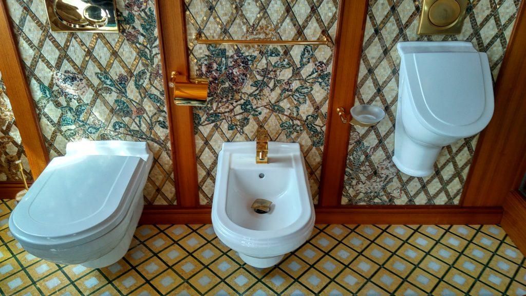 Meschyhirj - Toilette