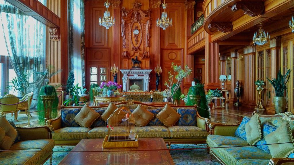 Meschyhirja - Wohnzimmer