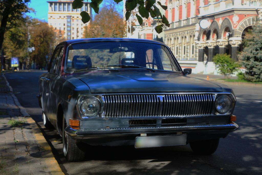 Verkehrsmöglichkeit in Kiew
