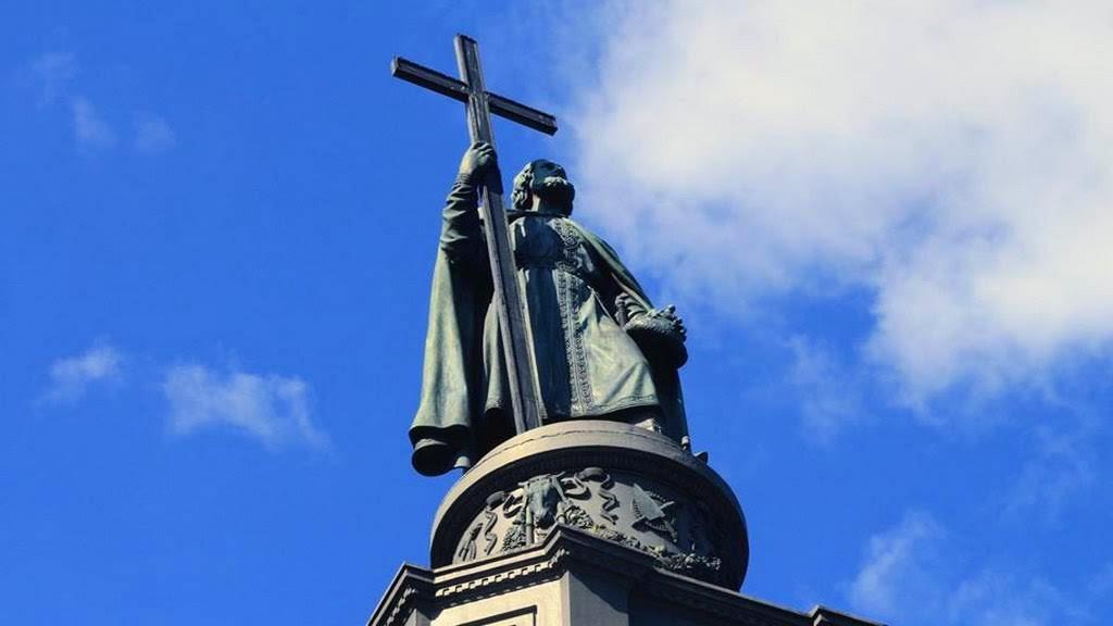 Deutsche Spuren - Denkmal des Heiligen Wolodymyr