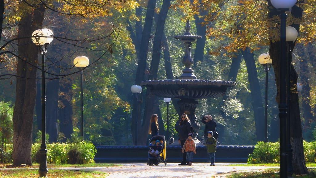 Regierungsviertel Lypky - Marienpark