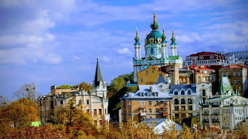 Stadtrundgang durch das alte Kiew - Andreaskirche