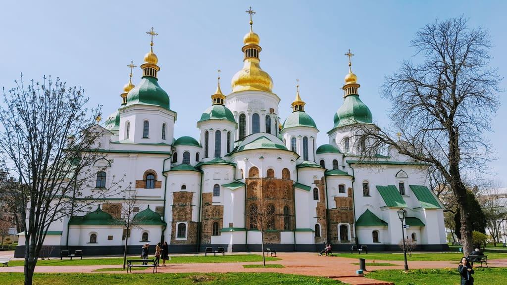 Stadtrundgang durch das alte Kiew - Sophienkathedrale