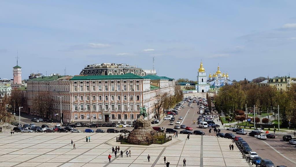 Stadtrundgang durch das alte Kiew - Sophienplatz