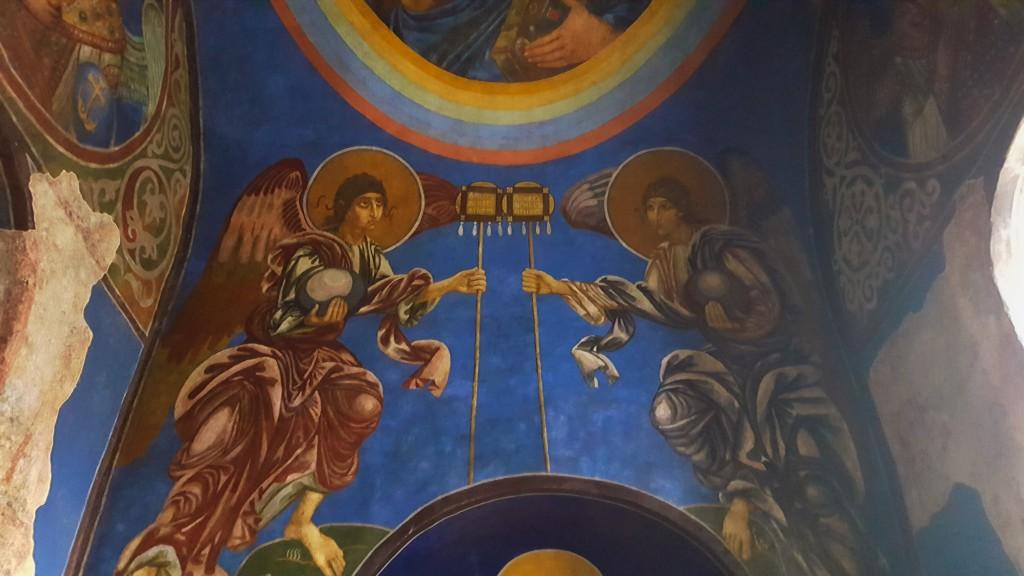 Engel mit Labarum