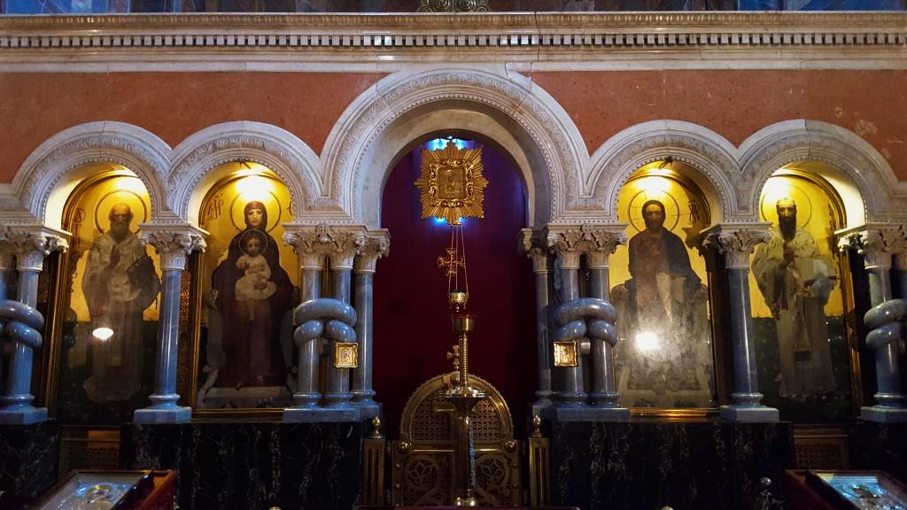 Ikonostase der Kyrillkirche