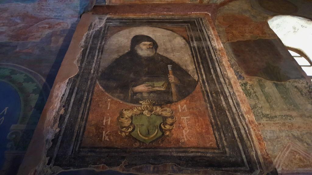 Porträt des Hegumens Inokentij Monastyrskyj