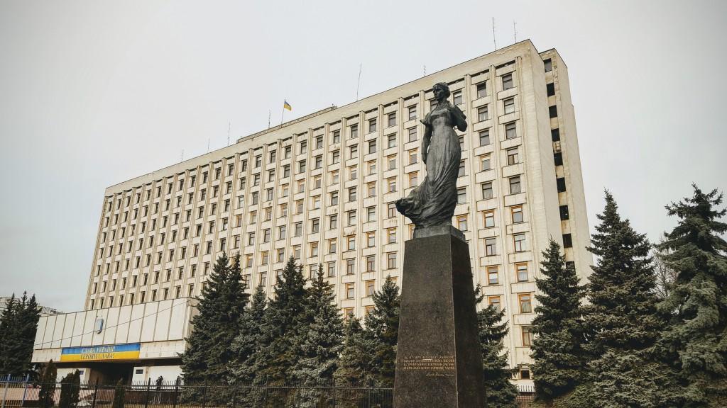 Lesja-Ukrajinka-Denkmal